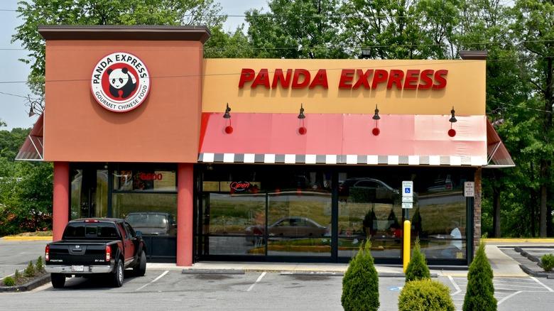 Panda Express building
