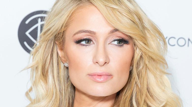 Closeup of Paris Hilton