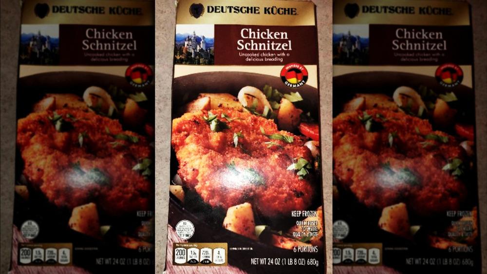 Aldi's Deutsche Kuche chicken schnitzel