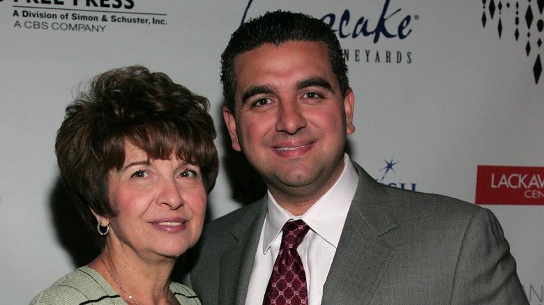 Buddy Valastro and mother Mary Valastro