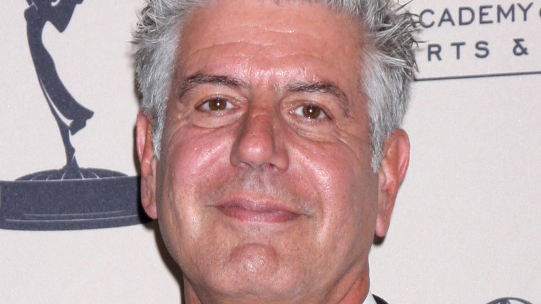 Anthony Bourdain at the Emmys
