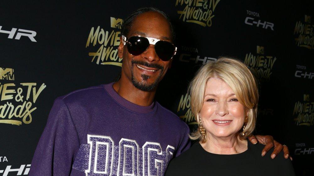 Snoop and Martha Stewart