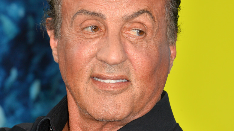 Sylvester Stallone at an event 2018