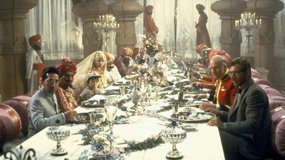 Indiana Jones and the Temple of Doom dinner scene