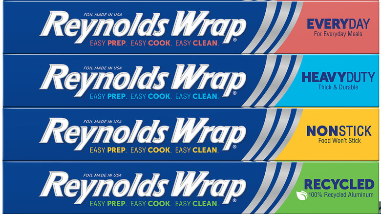New boxes of Reynolds Wrap