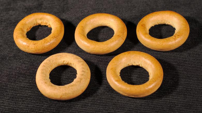 Bagel Olympic rings