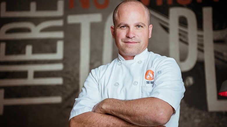 Chef Brad Kent from Blaze Pizza