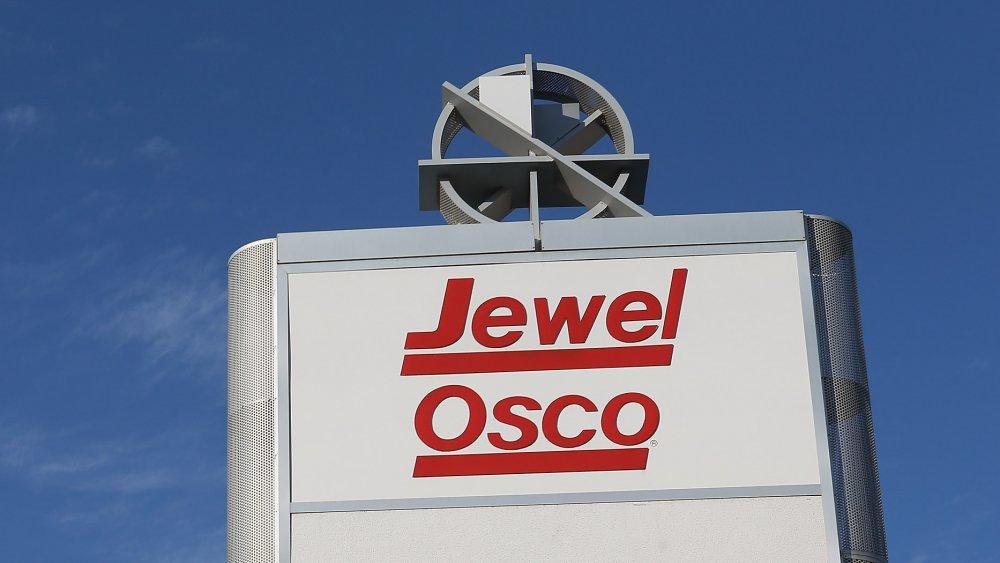 Outdoor Jewel-Osco sign