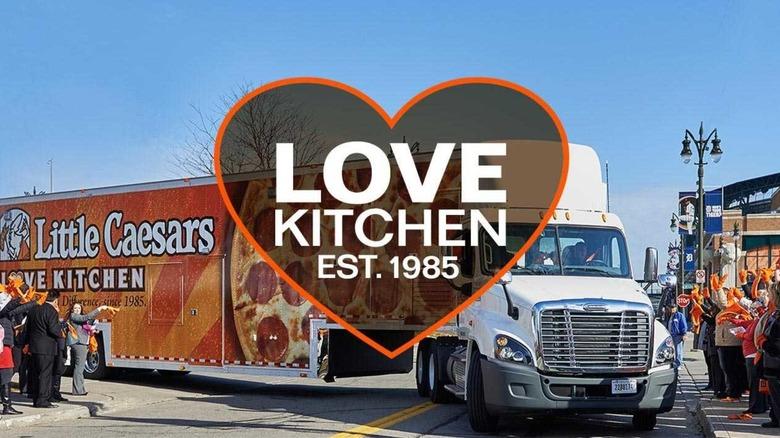 Little Caesars Love Kitchen truck