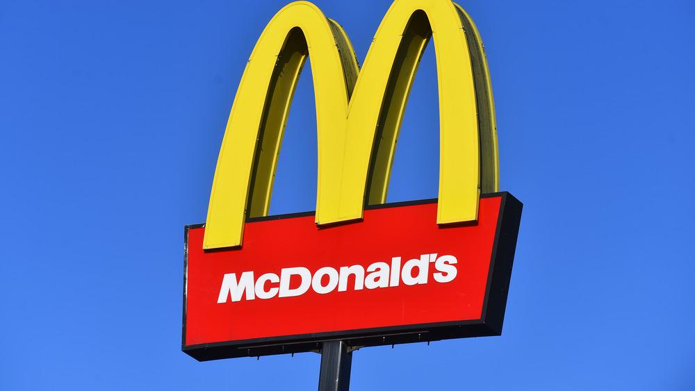 A McDonald's outlet