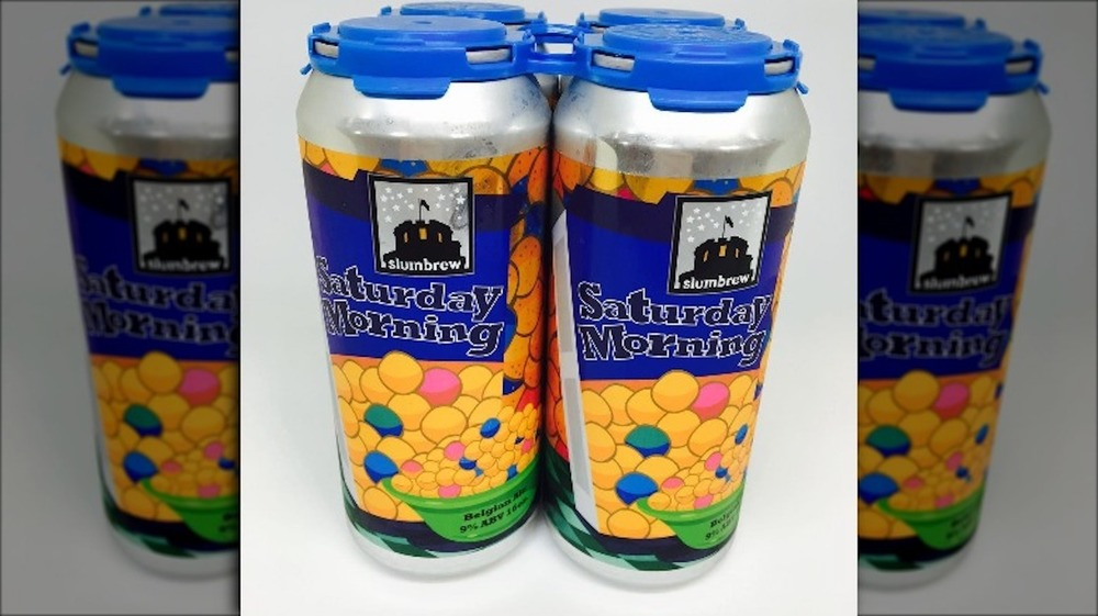 Four pack of Sumbrew Saturday Morning beer