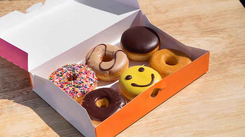Box of Dunkin Donuts