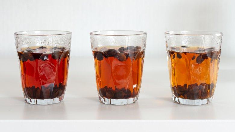 Cascara coffee tea