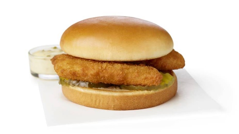 Chick-fil-A's Traditional Fish Sandwich