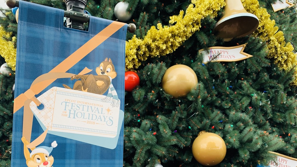Festival of the Holidays at Disney