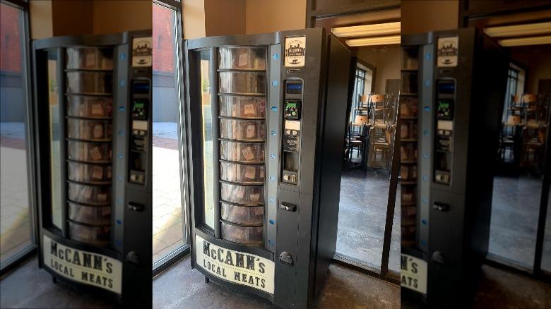 McCann's meat vending machine