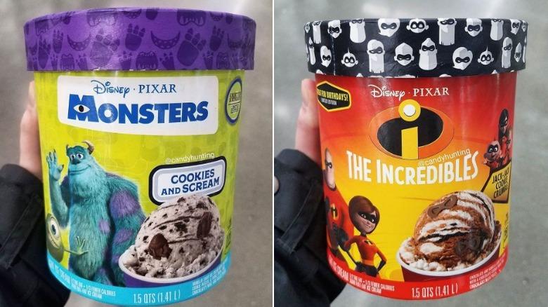Disney/Pixar ice creams