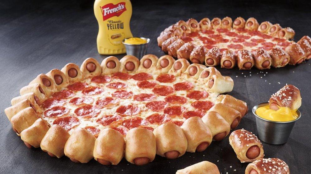 Hot Dog Bites Pizzas