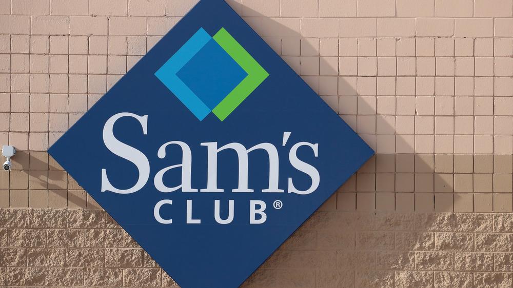 Sam's Club exterior sign