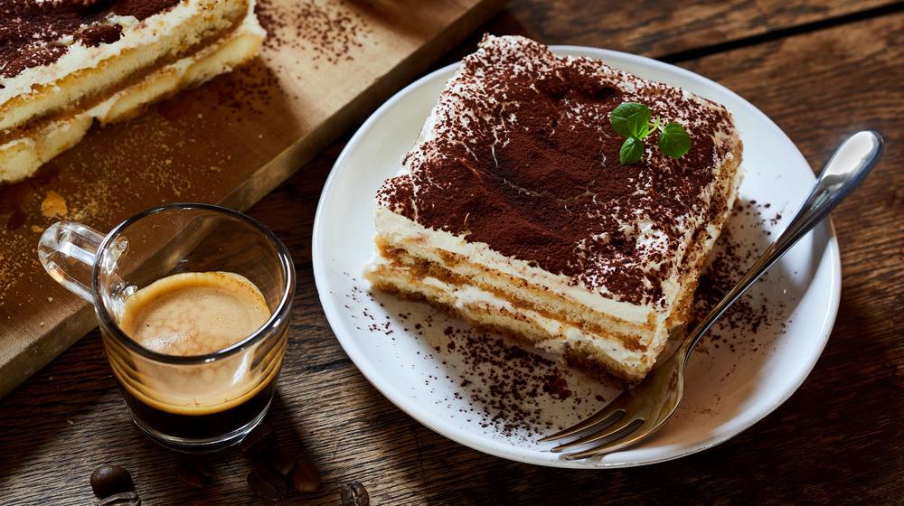 Tiramisu with espresso