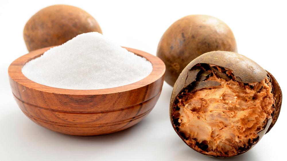 Monk fruit and sweetener