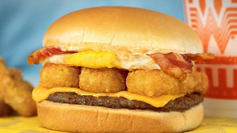 Whataburger Breakfast Burger photo ad