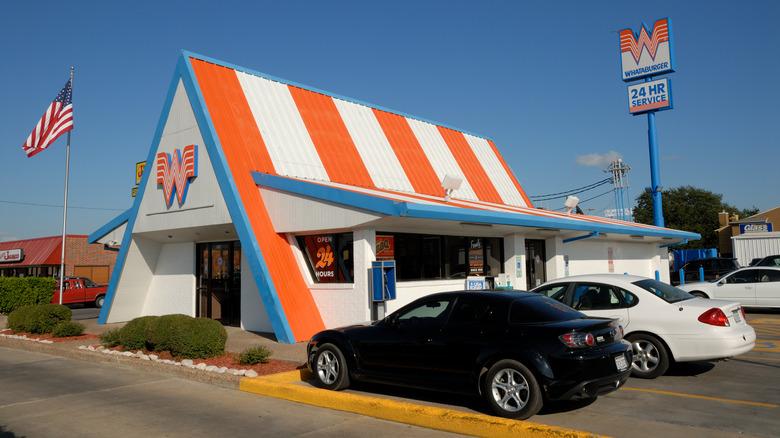 Whataburger restaurant in Corpus Christi