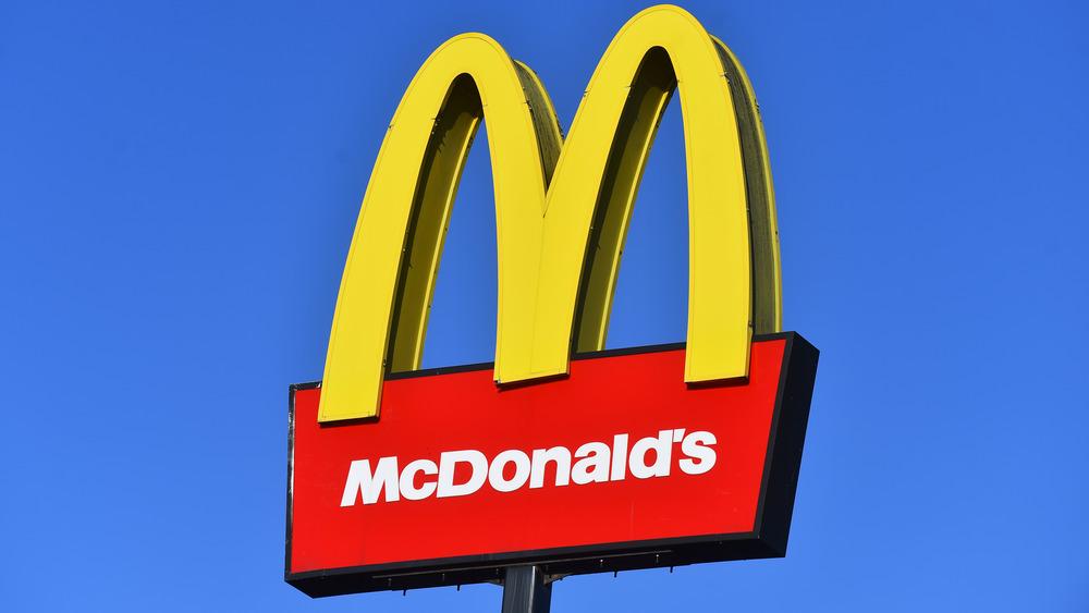 The McDonald's logo