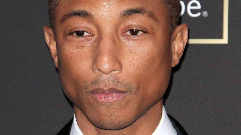 Pharrell Williams posing