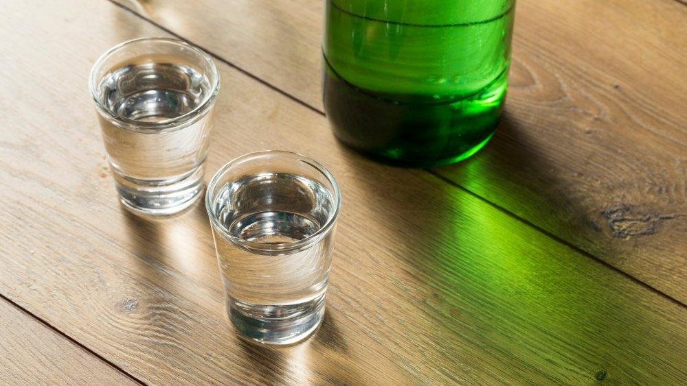 sake and soju