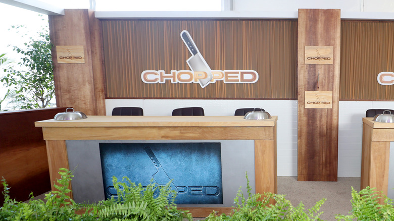 the set of chopped on food network