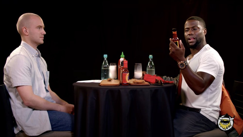 Kevin Hart on Hot Ones