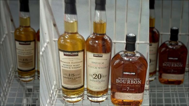 Kirkland whiskeys