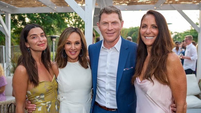 Bobby Flay and three women