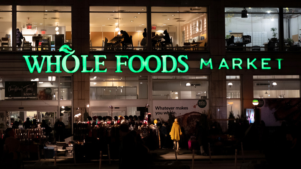 Whole Foods... at night!