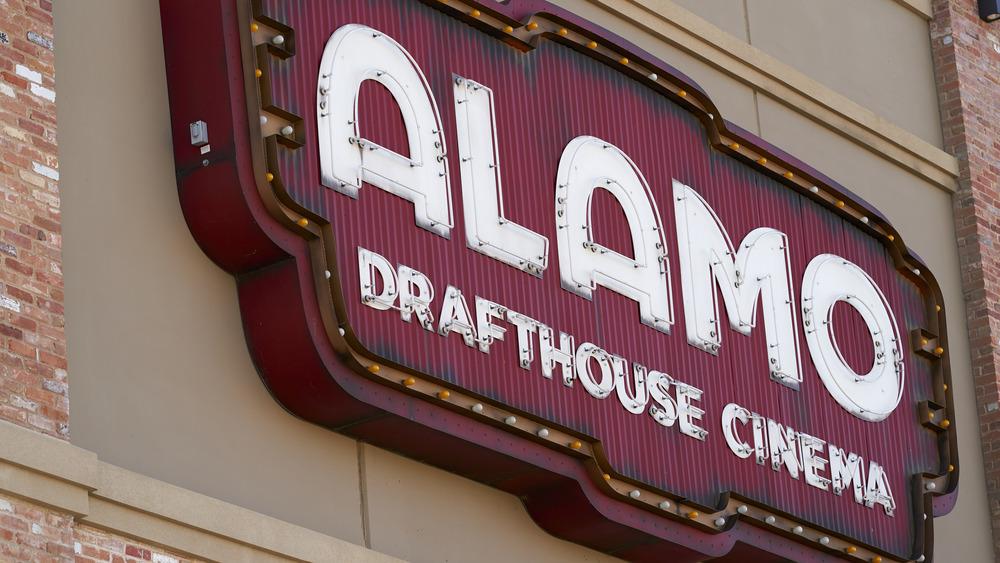 Alamo Drafthouse Cinema sign