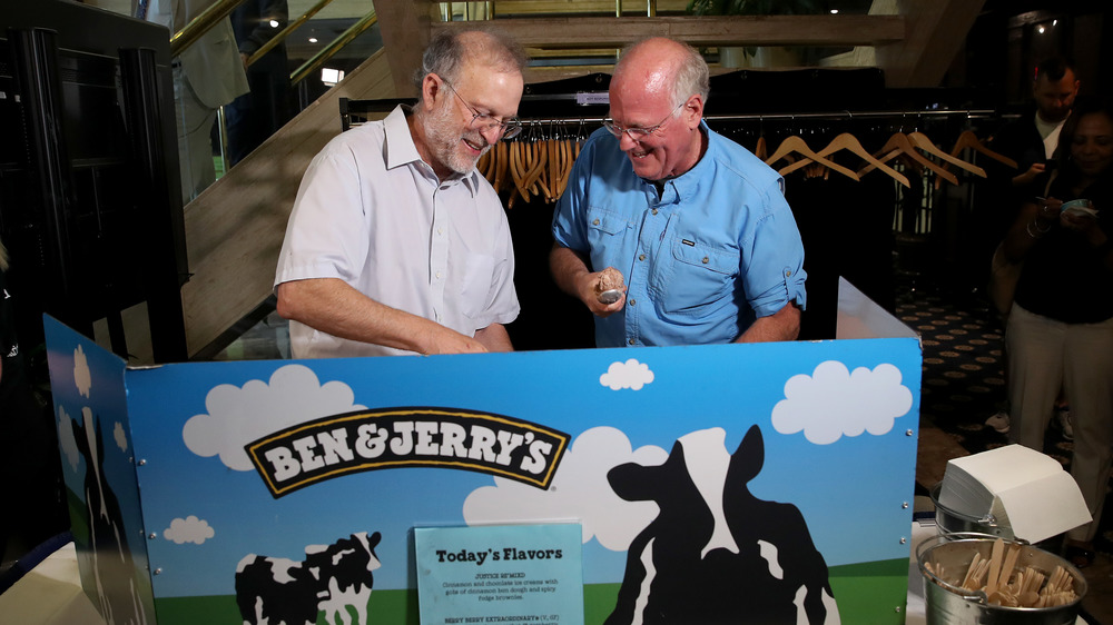 The Ben and Jerry of Ben & Jerry's.