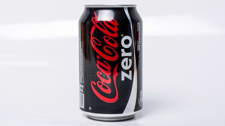 A can of Coke Zero