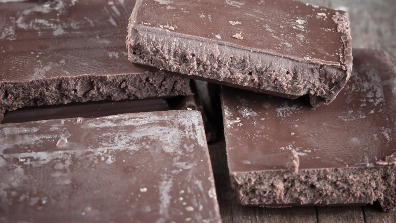 chocolate turned white