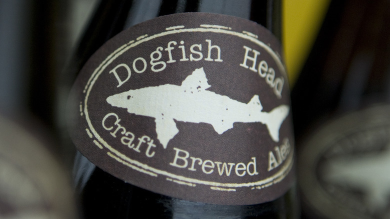 Dogfish Head logo label