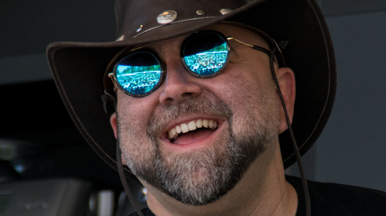Duff Goldman in cowboy hat