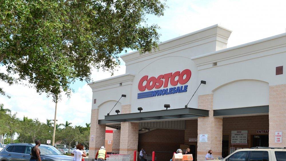 outside of a Florida Costco