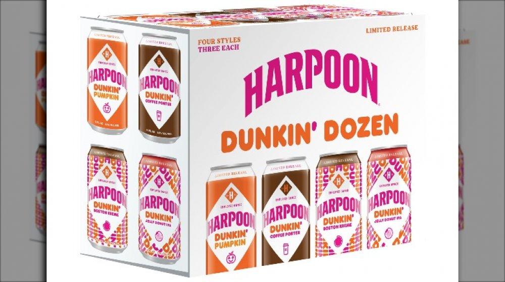 Harpoon Dunkin' Dozen 12 pack