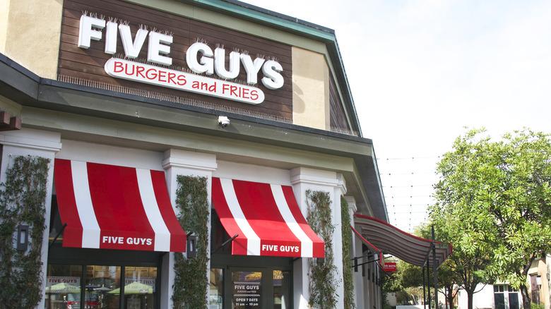 Five Guys location