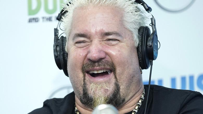 Guy Fieri on the radio