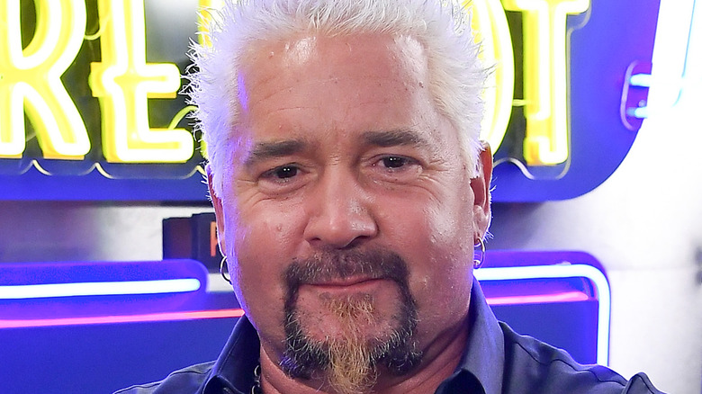 Guy Fieri closeup