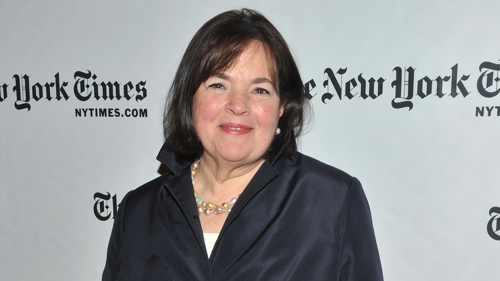 Chef Ina Garten in a black outfit
