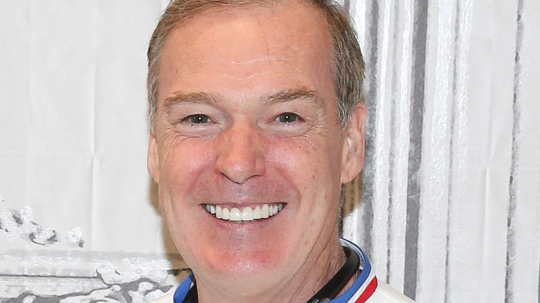 Jacques Torres smiling at event