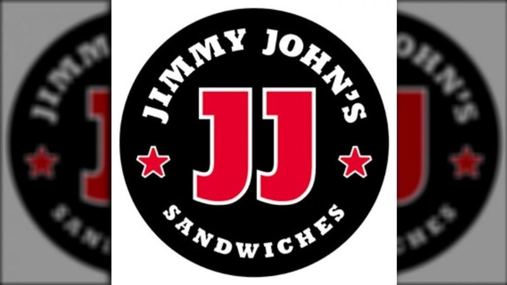 Jimmy John's Logo on black background