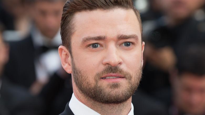 Justin Timberlake wearing tuxedo